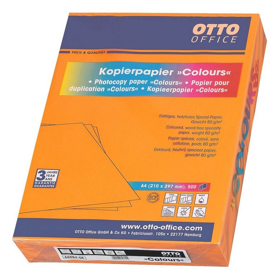 OTTO Office Standard Farbiges Papier »COLOURS« in orange