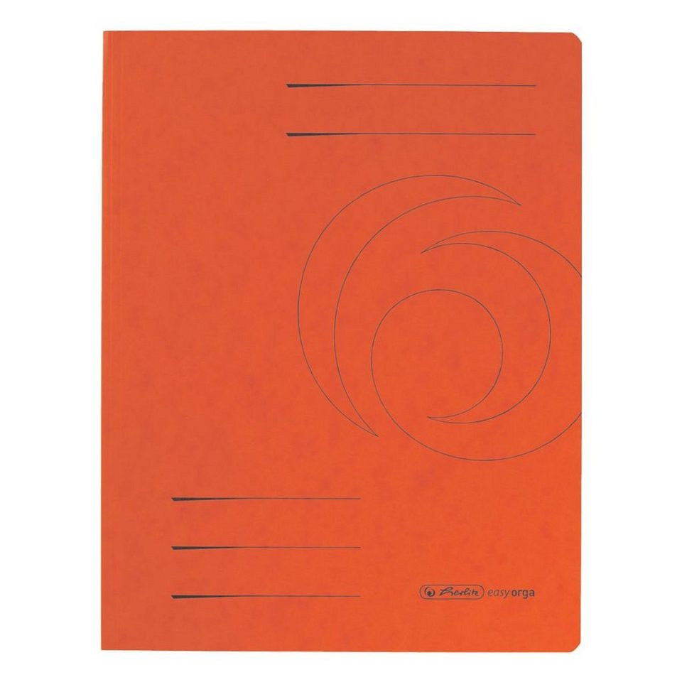 Herlitz Sammelmappe »easy orga« in orange