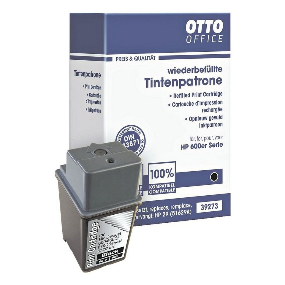 OTTO Office Standard Tintenpatrone ersetzt HP »51629AE« Nr. 29