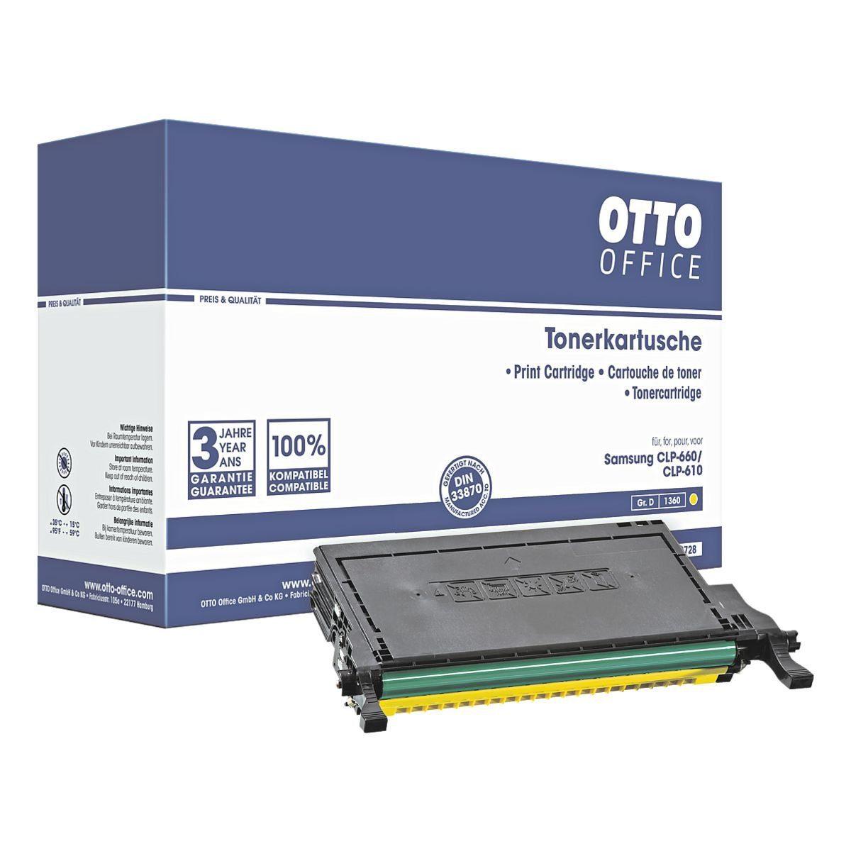 OTTO Office Standard Toner ersetzt Samsung »CLP-Y660B«