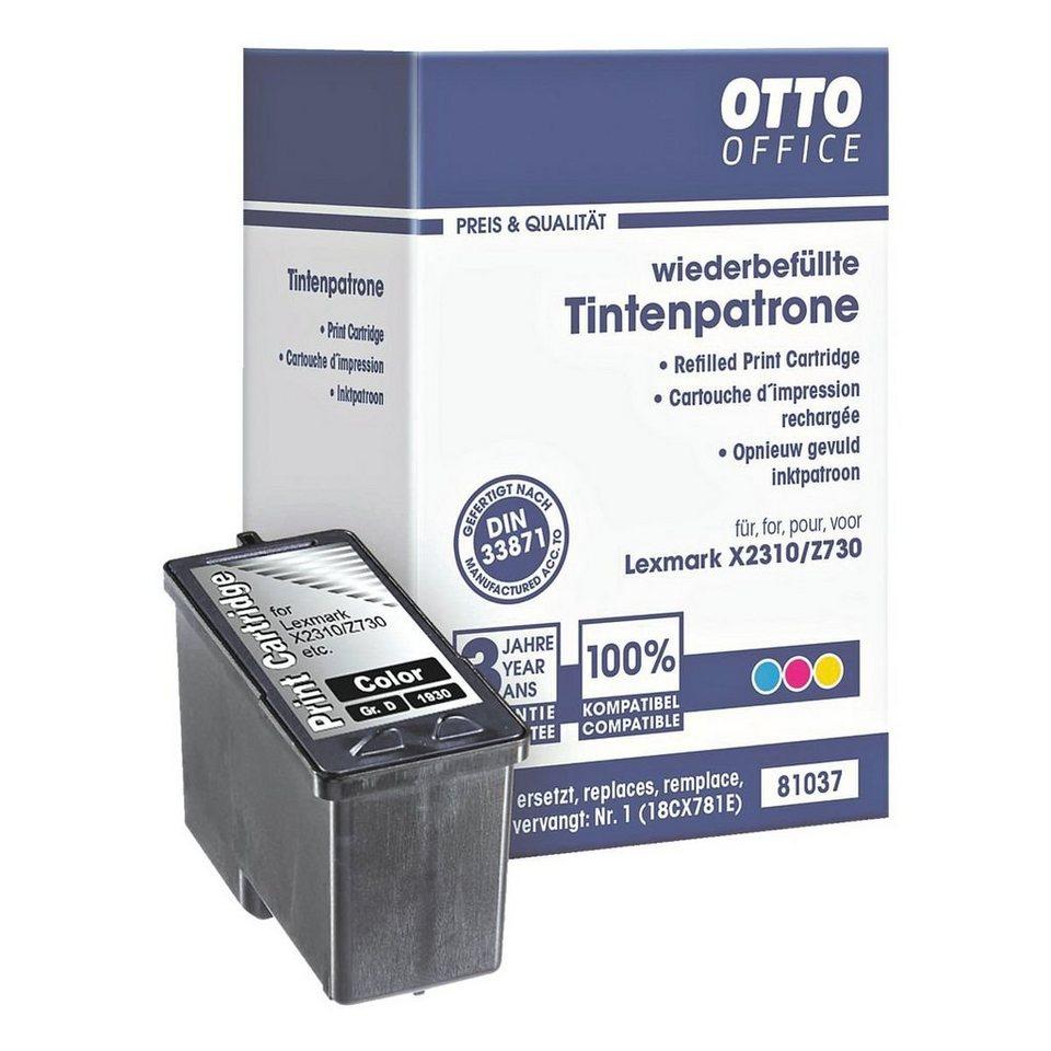 OTTO Office Standard Tintenpatrone ersetzt Lexmark »018CX781E« Nr. 1