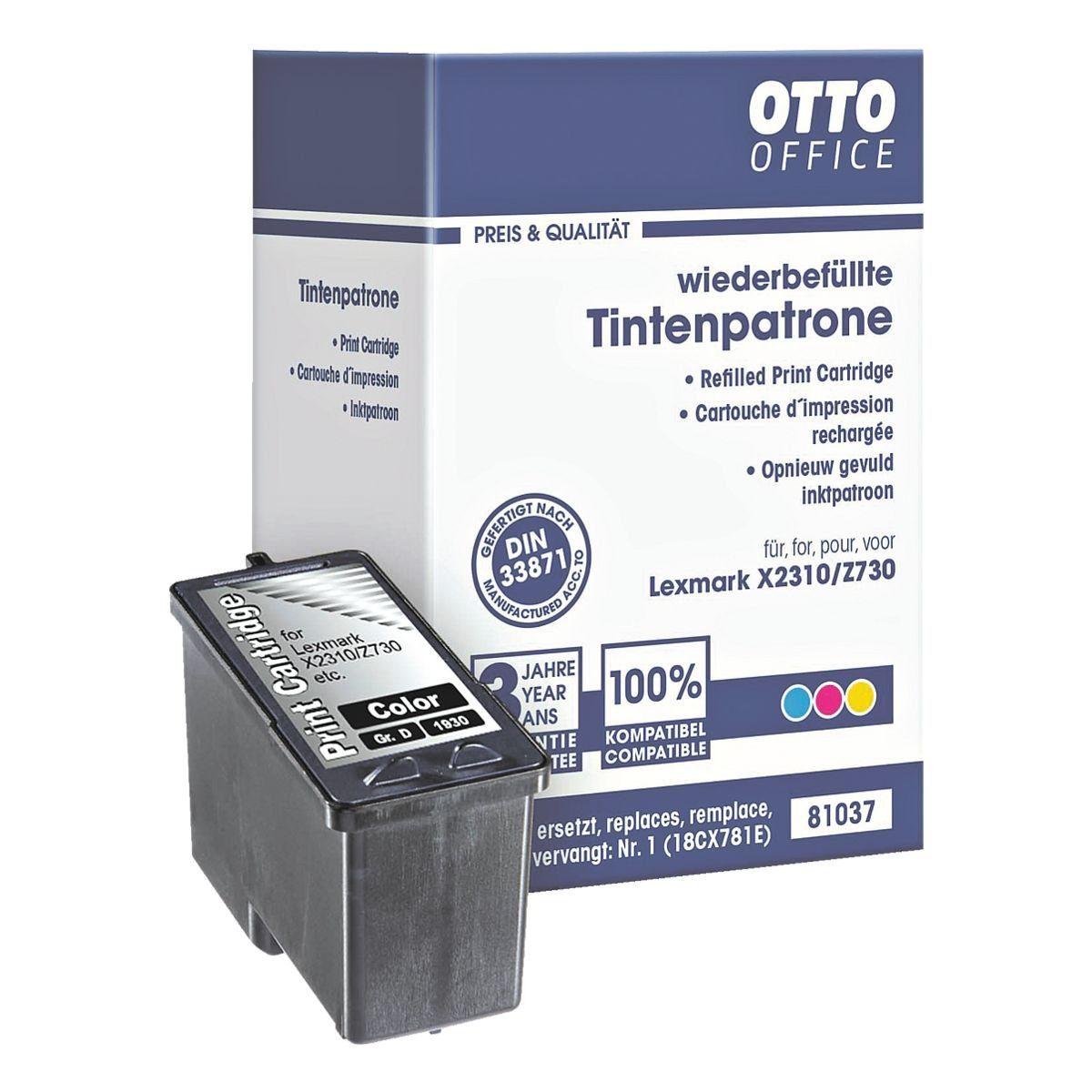 OTTO Office Tintenpatrone ersetzt Lexmark »018CX781E« Nr. 1