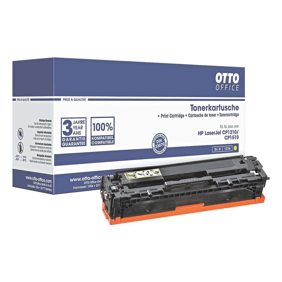 OTTO Office Standard Tonerpatrone ersetzt HP »CB542A« Nr. 125A