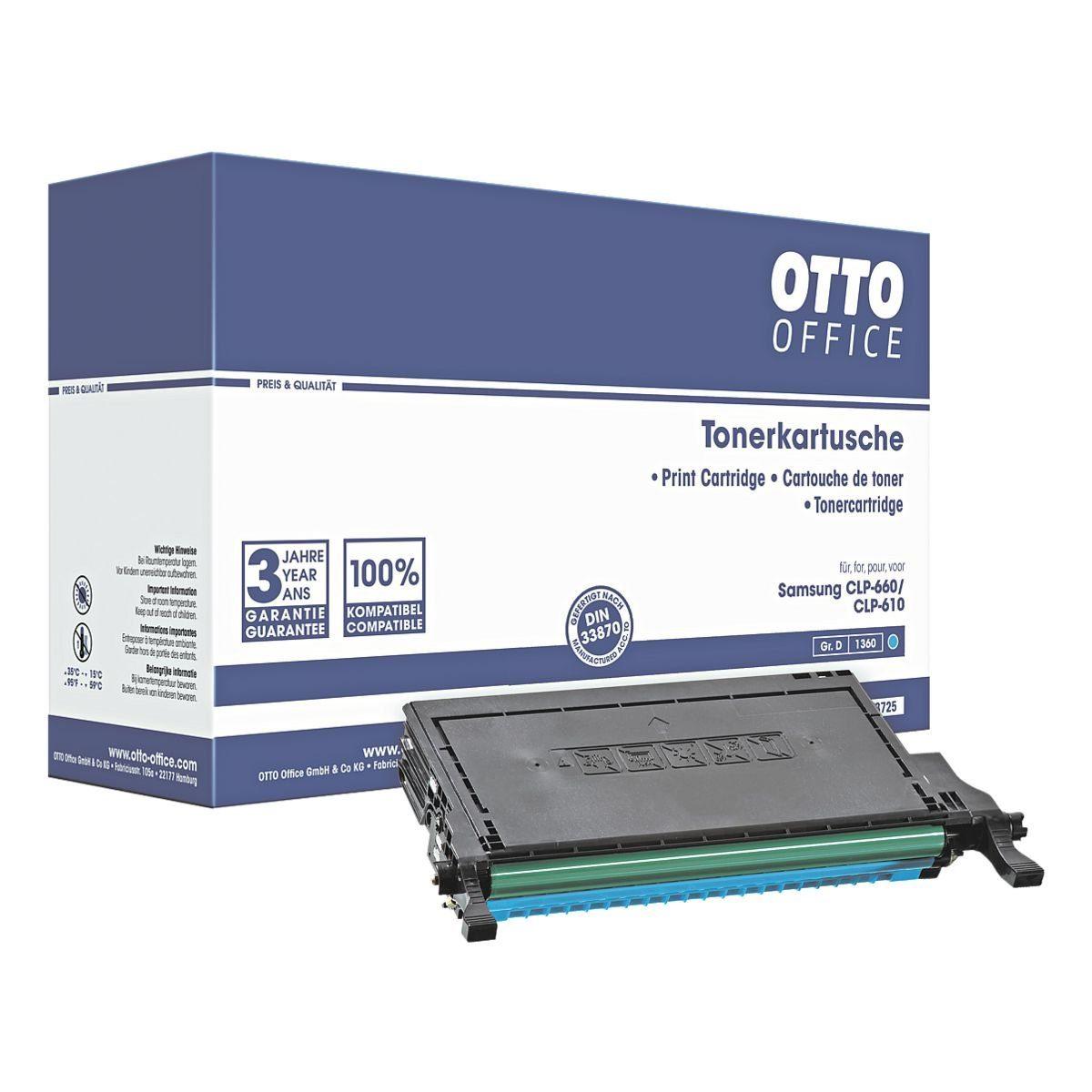 OTTO Office Toner ersetzt Samsung »CLP-C660B«