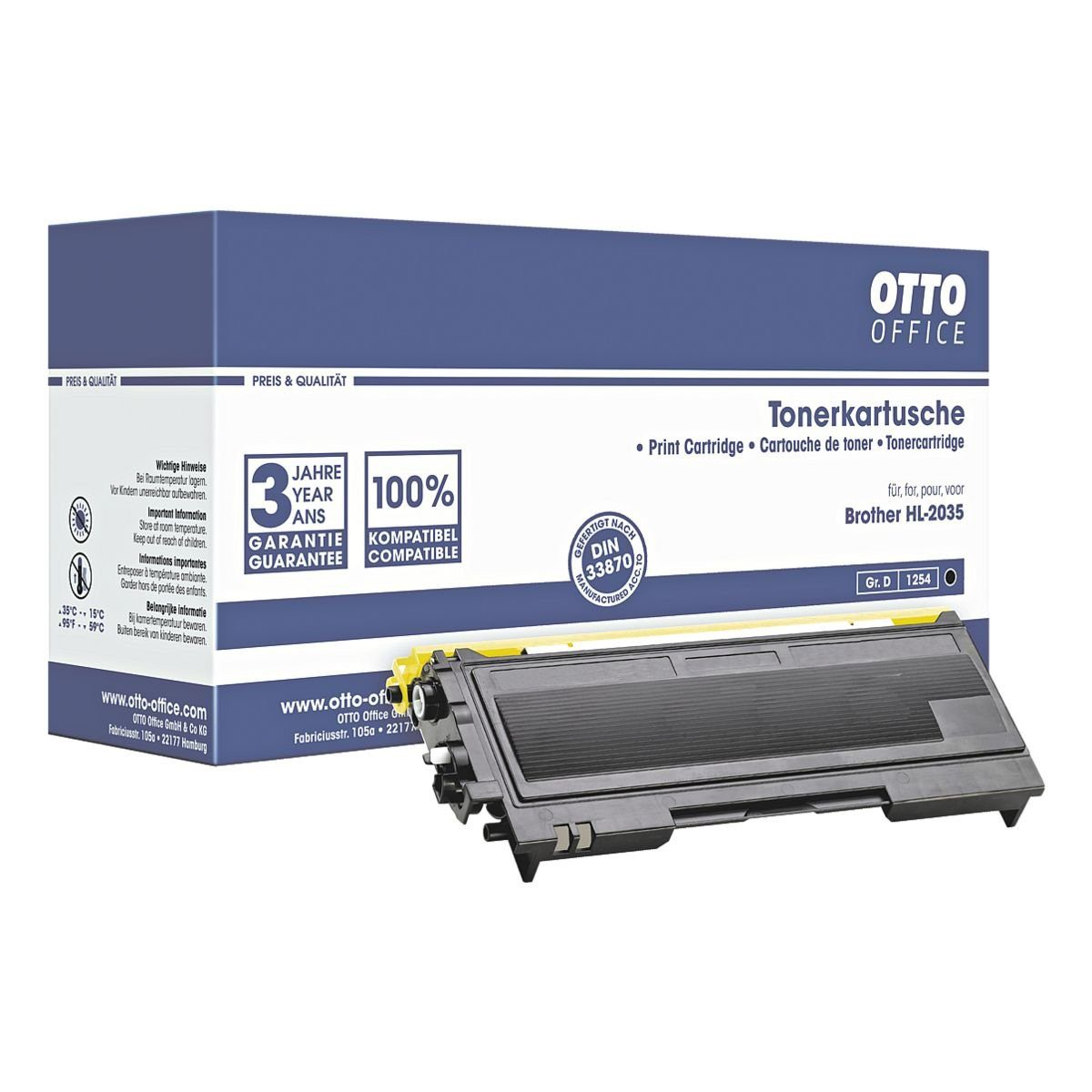 OTTO Office Standard Tonerpatrone ersetzt Brother »TN-2005«