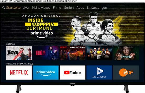 Grundig 40 VOE 61 - Fire TV Edition TTE000 LED-Fernseher (100 cm/40 Zoll, Full HD, Smart-TV, Fire-TV Edition)