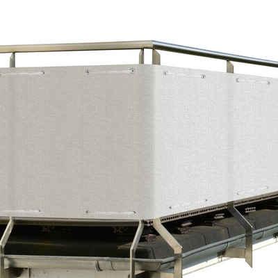 Sol Royal Balkonsichtschutz »SolVision HB2« HDPE Balkonumspannung 500x90cm