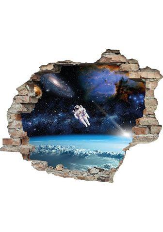 queence Wandtattoo »Astronaut« (1 vienetai)