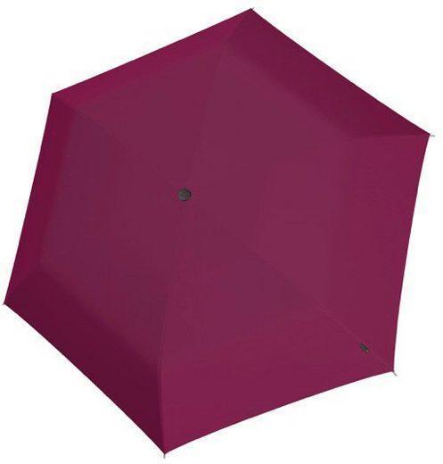 Knirps® Taschenregenschirm »AS.050 Slim Small Manual, Uni Violet«