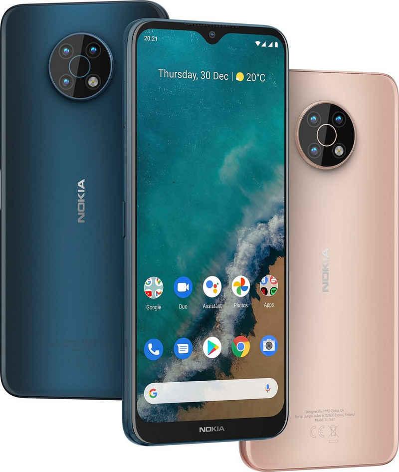 Nokia G50 Smartphone (17,32 cm/6,82 Zoll, 128 GB Speicherplatz, 48 MP Kamera)