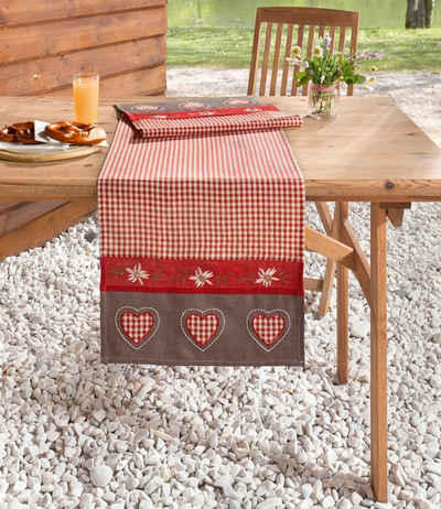 HomeLiving Tischläufer »Alpenglück«