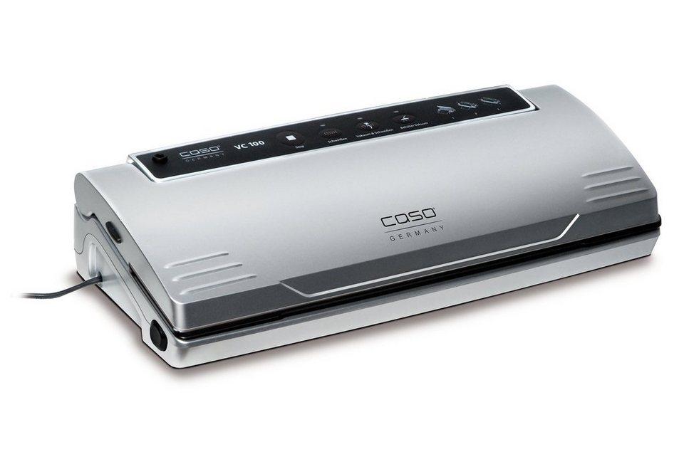 Caso Vakuumierer »VC100«, 120 Watt, Rollenbreite max. 30 cm bei beliebiger Länge