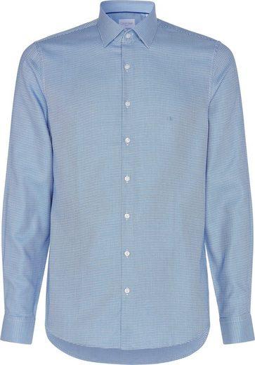 Calvin Klein Businesshemd »MOTIF EASY CARE SLIM SHIRT«