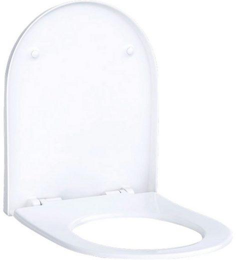 GEBERIT WC-Sitz »Acanto«, weiß, mit Absenkautomatik
