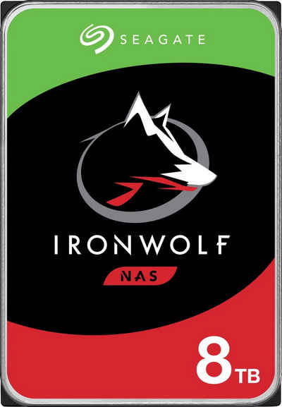 """Seagate »IronWolf« HDD-NAS-Festplatte 3,5"""" (8 TB) 210 MB/S Lesegeschwindigkeit)"""