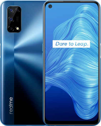 Realme 7 5G Smartphone (16,5 cm/6,5 Zoll, 128 GB Speicherplatz, 48 MP Kamera)