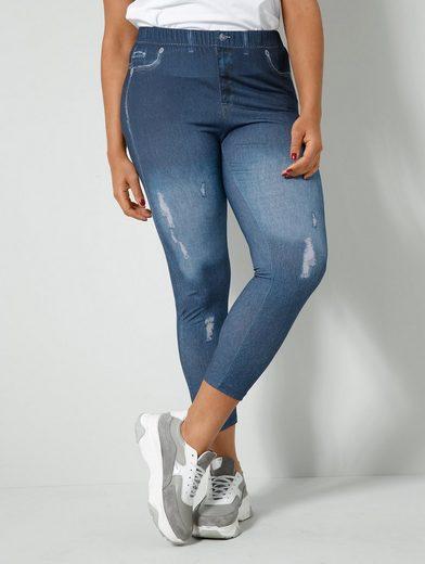 Angel of Style Leggings in Jeans-Optik