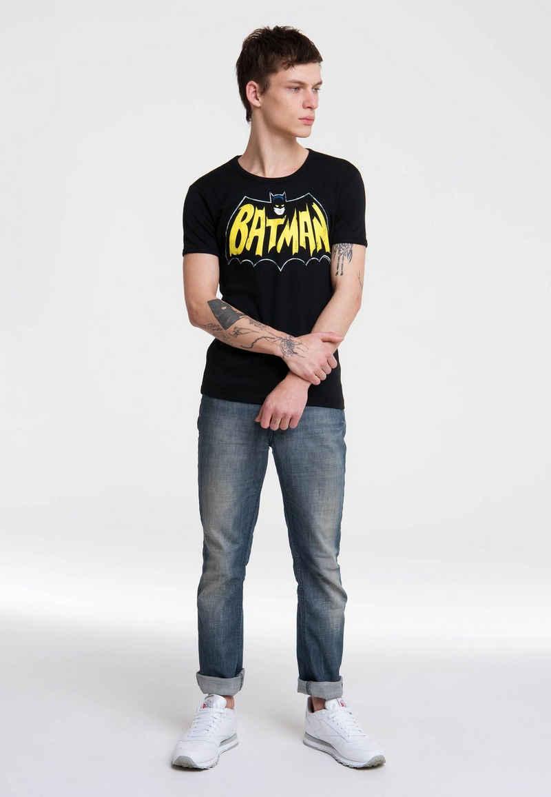 LOGOSHIRT T-Shirt »Batman – Bat« mit auffälligem Batman-Frontprint