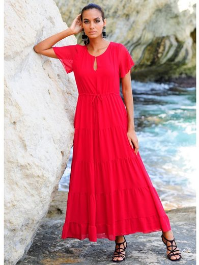 Alba Moda Strandkleid im Stufenlook