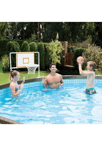SummerWaves Basketballkorb (Set) ir Ball dėl Pools...