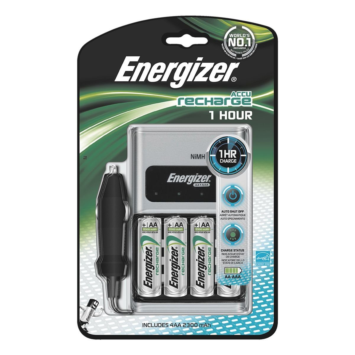 Energizer Schnellladegerät »1 H Charger«