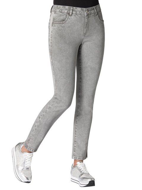 Hosen - Ambria Stretch Jeans › grau  - Onlineshop OTTO
