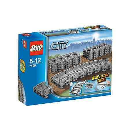 LEGO®, Flexible Schienen (7499), »LEGO City«