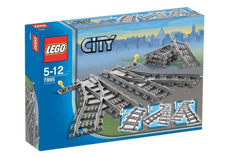 Weichenpaar (7895), LEGO®, »LEGO City«