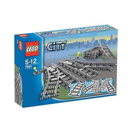 LEGO®, Weichenpaar (7895), »LEGO City«