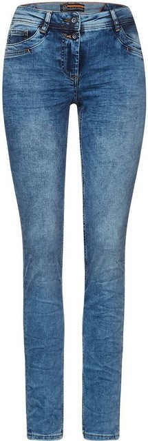 Hosen - Cecil Loose fit Jeans »Style Scarlett« in unregelmäßiger Waschung ›  - Onlineshop OTTO