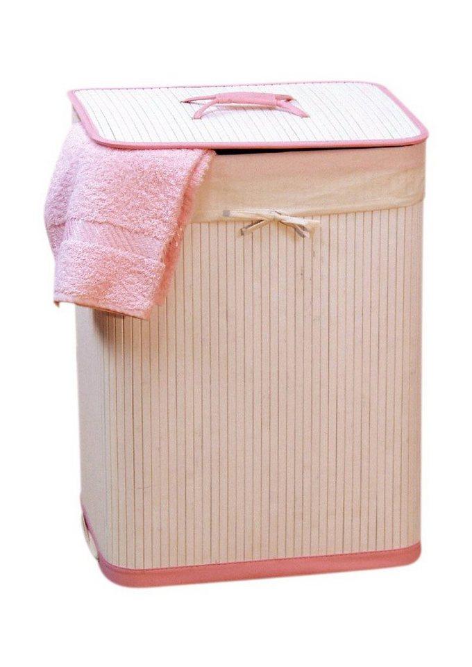 Wäschekorb, Home affaire in weiß