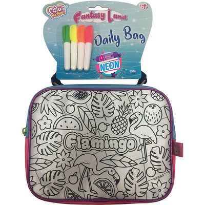 SIMBA Malvorlage »Color Me Mine Fantasy Daily Bag«
