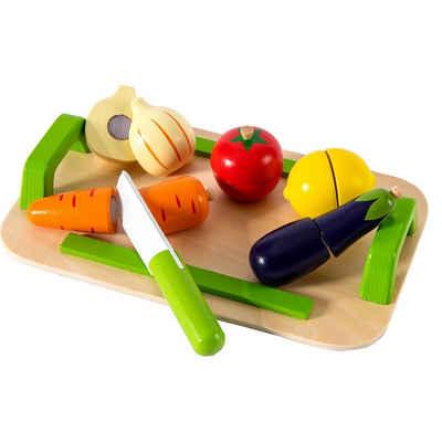 myToys Spielgeschirr »Schneidebrett Gemüse, 12-tlg.«