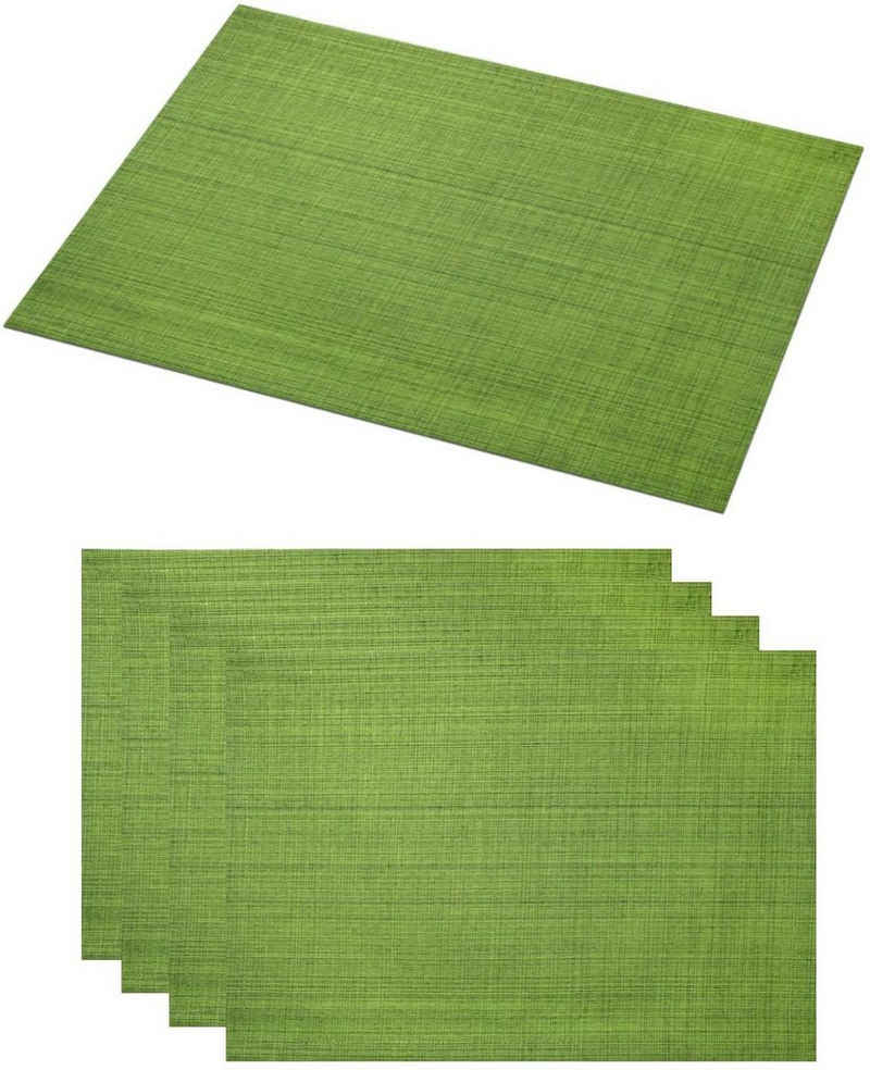Platzset, »SAMBA«, Delindo Lifestyle, (4-St), Fleckabweisend, UV-beständig, 230 g/m²