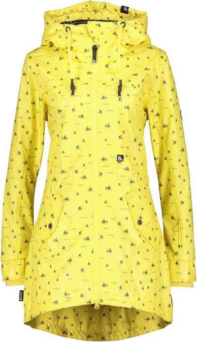 Alife & Kickin Outdoorjacke »AudreyAK« sportiver Raincoat in leuchtenden Farben