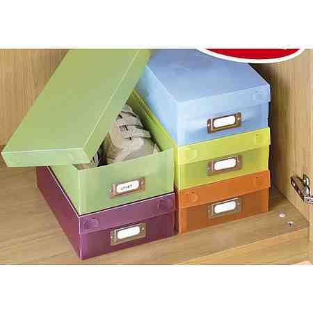 Schuhboxen (5 Stck.)
