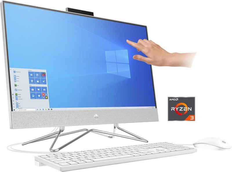HP Pavilion 24-dp0201ng All-in-One PC (23,8 Zoll, AMD Ryzen 3 4300U, Radeon Graphics, 8 GB RAM, 256 GB SSD)