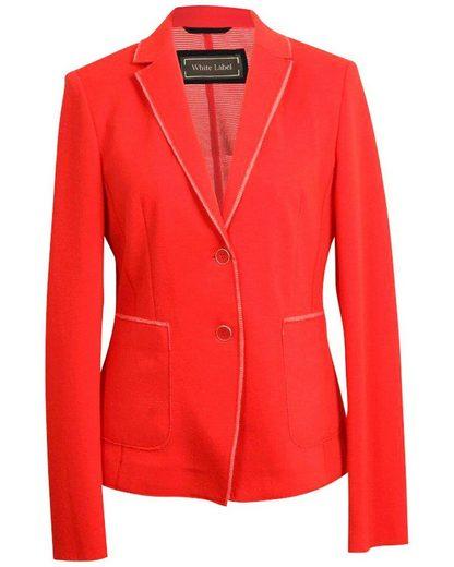 White Label Kurzjacke »Jersey-Blazer«