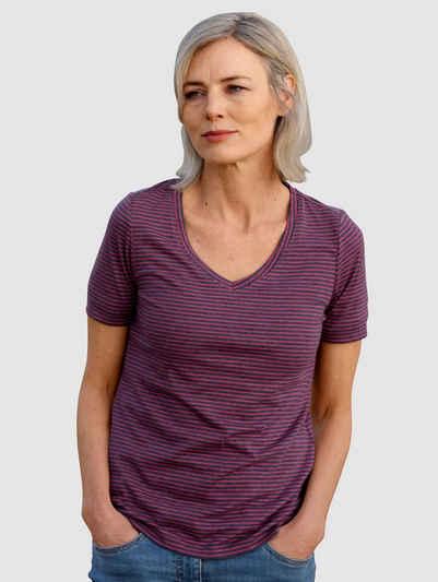 Dress In T-Shirt mit Streifen