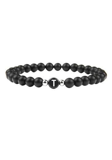 GOOD.designs Armband »Buchstabenperlen T«