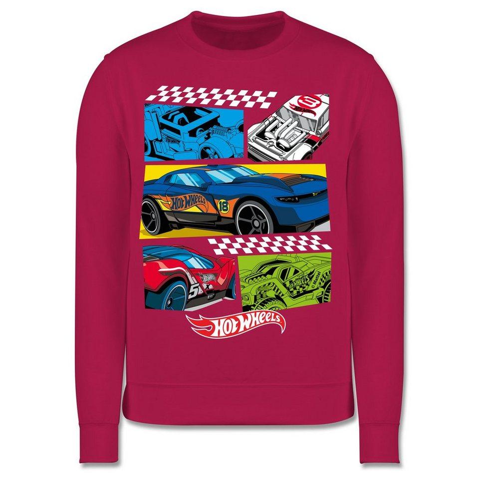 shirtracer sweatshirt »comic rennautos  kinder premium