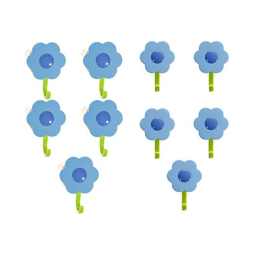 Wandhaken »Blumenhaken«, Kochblume, (Spar-Set, 10-St), Tragkraft bis zu 8 kg