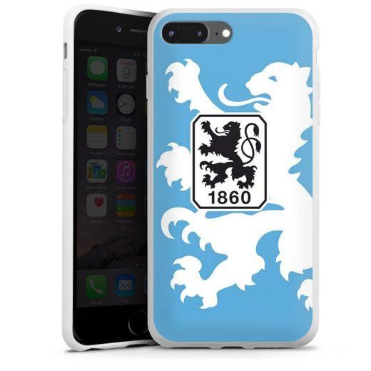 DeinDesign Handyhülle »1860 Löwe groß« Apple iPhone 7 Plus, Hülle TSV 1860 München Offizielles Lizenzprodukt Wappen