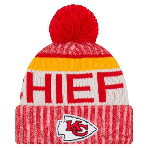 New Era Fleecemütze »NFL SIDELINE Bobble Kansas City Chiefs«