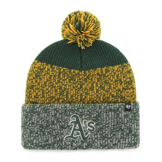 '47 Brand Fleecemütze »Knit Beanie Static Cuff Oakland Athletics«