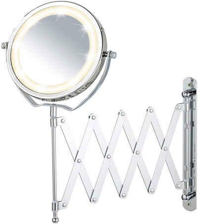 WENKO Kosmetikspiegel, 3-fach Vergrößerung