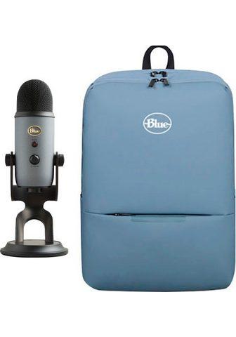 Blue Streaming-Mikrofon »Yeti« ir kuprinė
