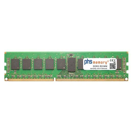 PHS-memory »RAM für Supermicro X9DAX-iF« Arbeitsspeicher