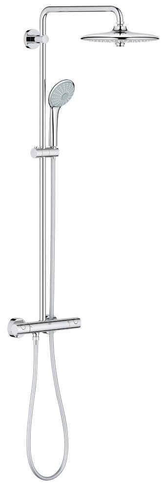 Grohe Brausegarnitur »Euphoria System 260«, Höhe 113,2 cm, für Wandmontage, mit Thermostatbatterie