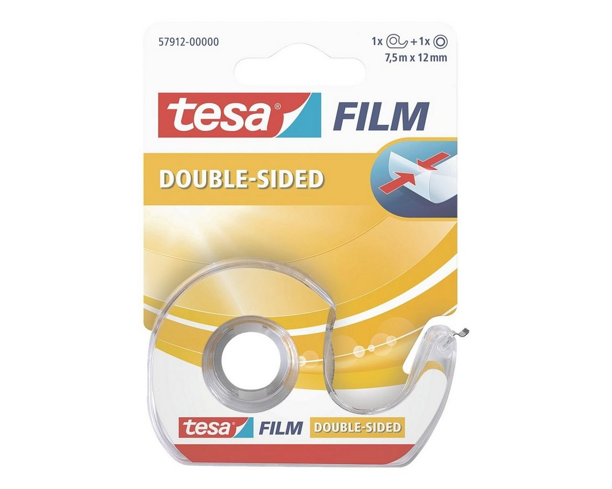Tesa Doppelseitiges Klebeband 57912